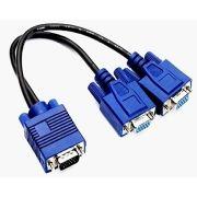 Cabo conversor Y VGA para 2-VGA