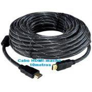 Cabo HDMI-macho 10-metros blindado com malha e filtro CBX-H100CM