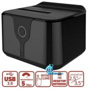 "Dock Station-case para HD - SSD sata 2.5"" e 3.5"" USB 3.0"