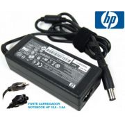 Fonte carregador Notebook HP 18,5 - compativel HP-Pavilion | HP-Compaq