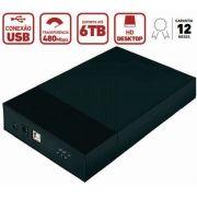Gaveta Case externa para HD 3.5p USB 2.0