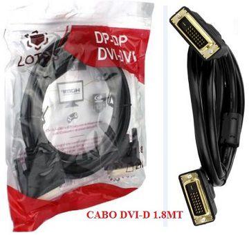 Cabo DVI-D 1.80-Metros Com Filtro (macho) Lotus