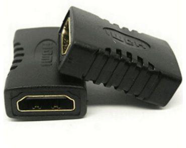 Conector Emenda HDMI fêmea para fêmea