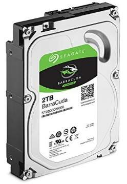 HD 2TB para PC Seagate Barracuda com Cache:64-MB 7200RPM ST2000DM006
