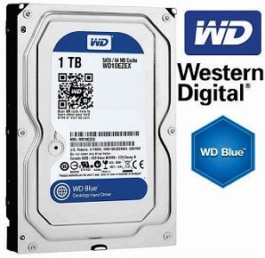 HD Interno 1TB Western Digital WD10EZEX - 3,5P