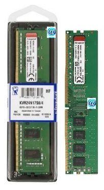 Memória 04gb DDr4-2400mhz para desktop Kingston®