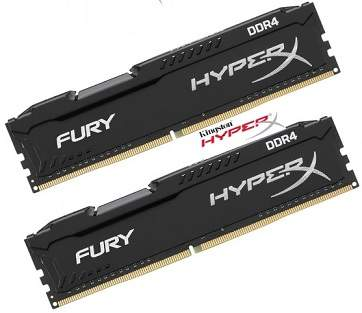 Memória 8GB DDr4 2400Mhz Hyperx Gamer Kingston HX424C15FB2/8