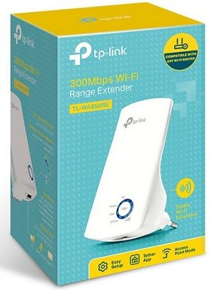 Repetidor e extensor wireless 300Mbps WA850RE TP-Link 02 antenas internas