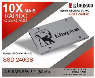 SSD 240GB SSDNow-UV400S37 KINGSTON