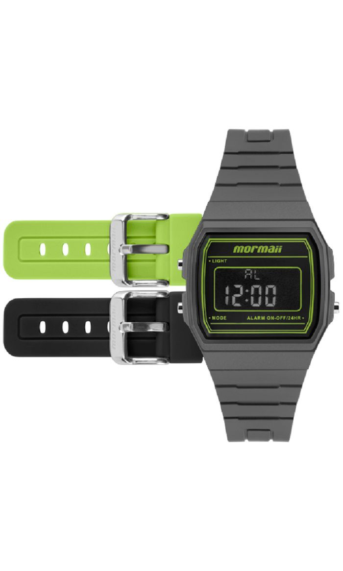 4f182c94246 Kit de Relógio Mormaii Unissex Troca Pulseira MOJH02AP 8V - GSmagazine