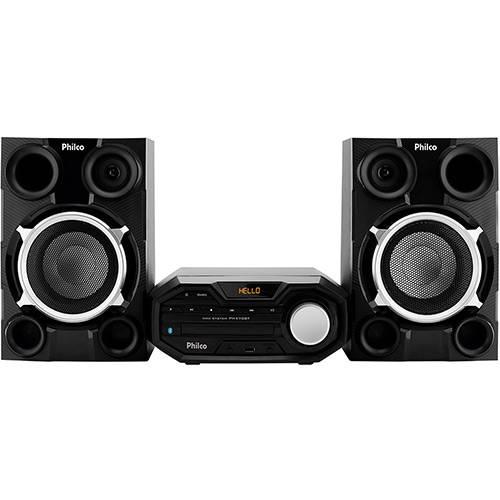 Mini System Philco PH470BT, 400W, Bluetooth com CD Player Rádio FM USB Aux In MP3 Preto