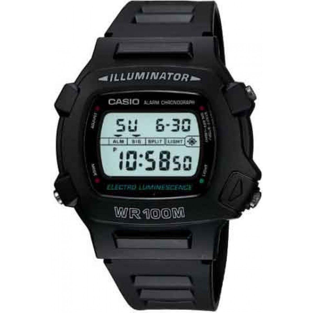 ffc61a0a0d5 Relógio Casio Digital W-740-1VS Preto