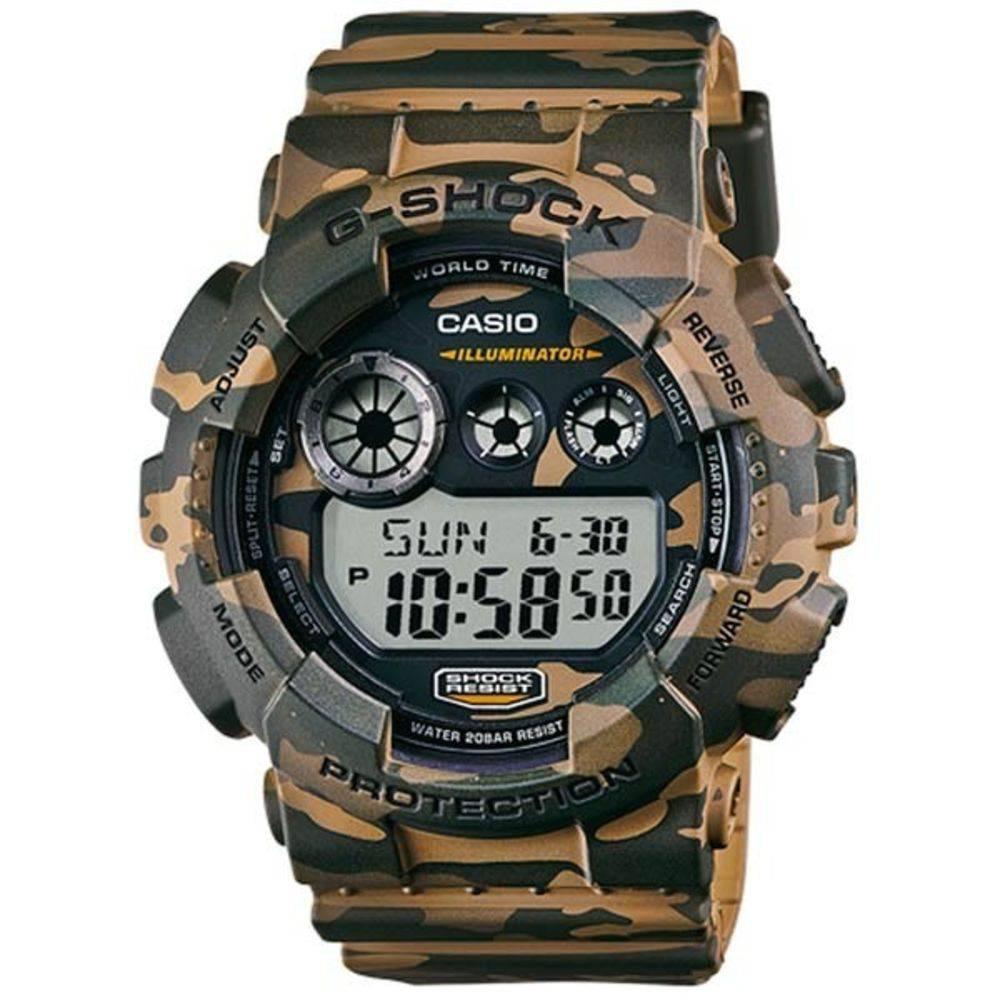 6b4ccdbda24 Relógio Casio G-Shock Masculino GD-120CM-5DR Camuflado - GSmagazine