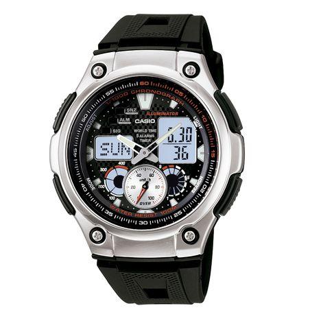 52491d87e59 Relógio Casio Masculino Anadigi Aq-190W-1AVDF - Preto - GSmagazine
