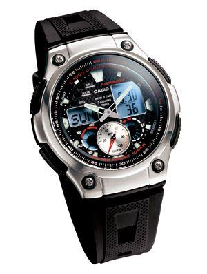 c612845965d Relógio Casio Masculino Anadigi Aq-190W-1AVDF - Preto - GSmagazine