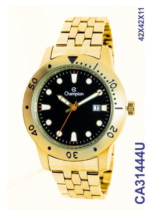 de6aafe82bf Relógio Champion Masculino CA31444U Dourado