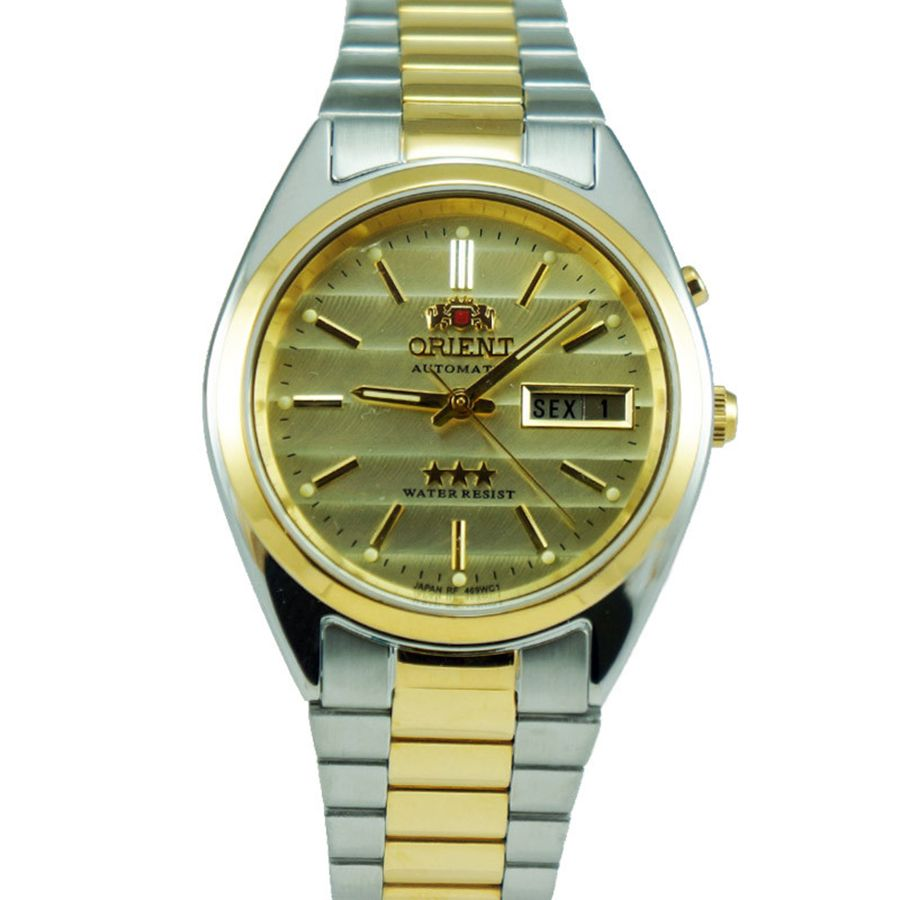 00a131548fc Relógio Orient Automático Analógico Masculino 469WC1 C1KS Bicolor ...