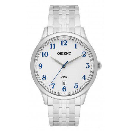 f5ac26d3617 Relógio Orient Masculino Mbss1311 B2sx Prata