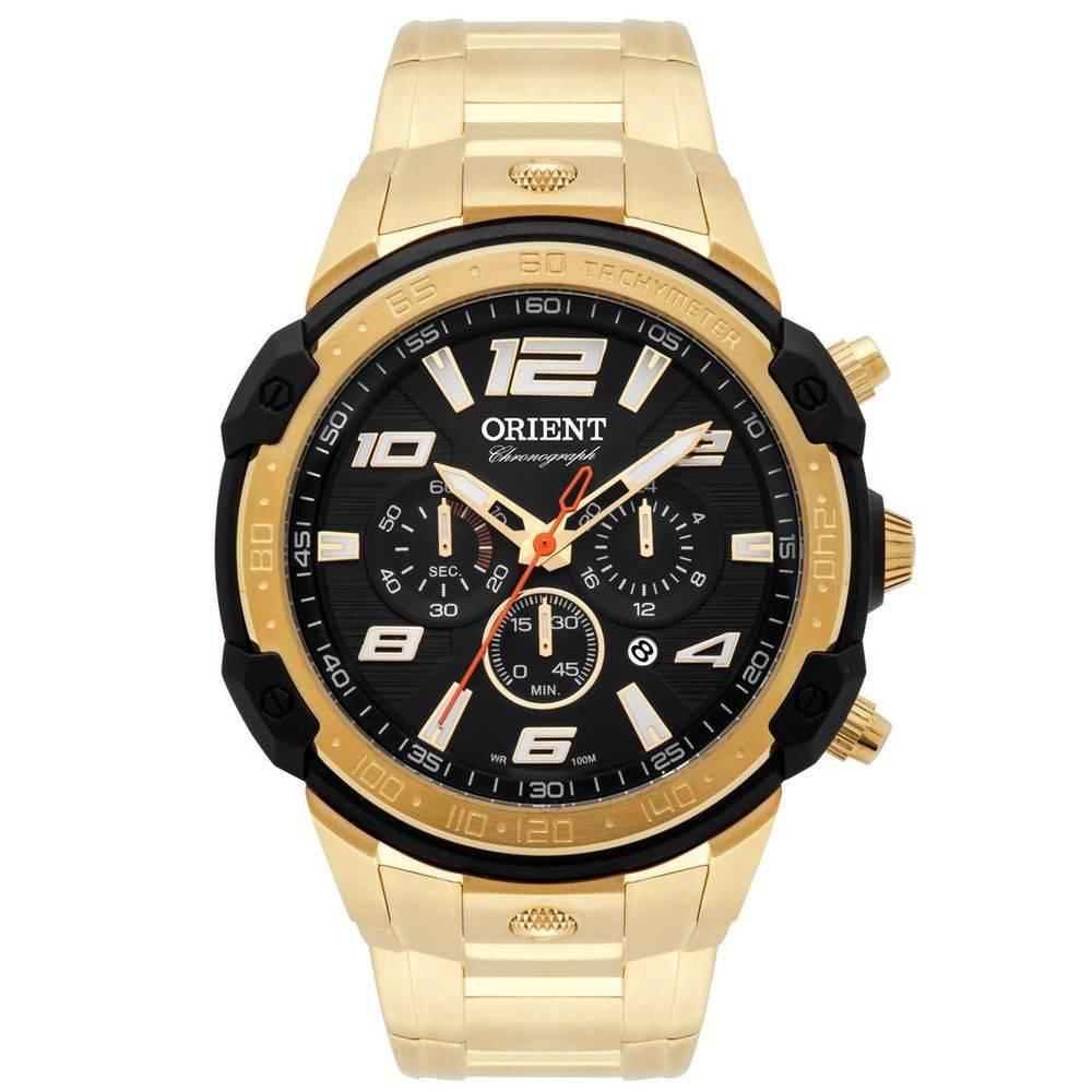 1a11d565b56 Relógio Orient Masculino MGSSC020A p2kx dourado - GSmagazine