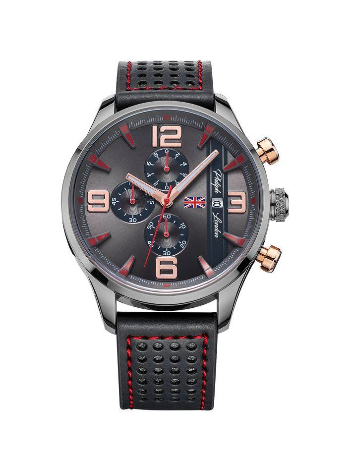 2e3d0ce716b Relógio Philiph London Masculino PL80005632M
