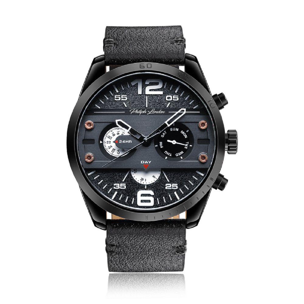 fcf60a4befe Relógio Philiph London Masculino PL80008512M