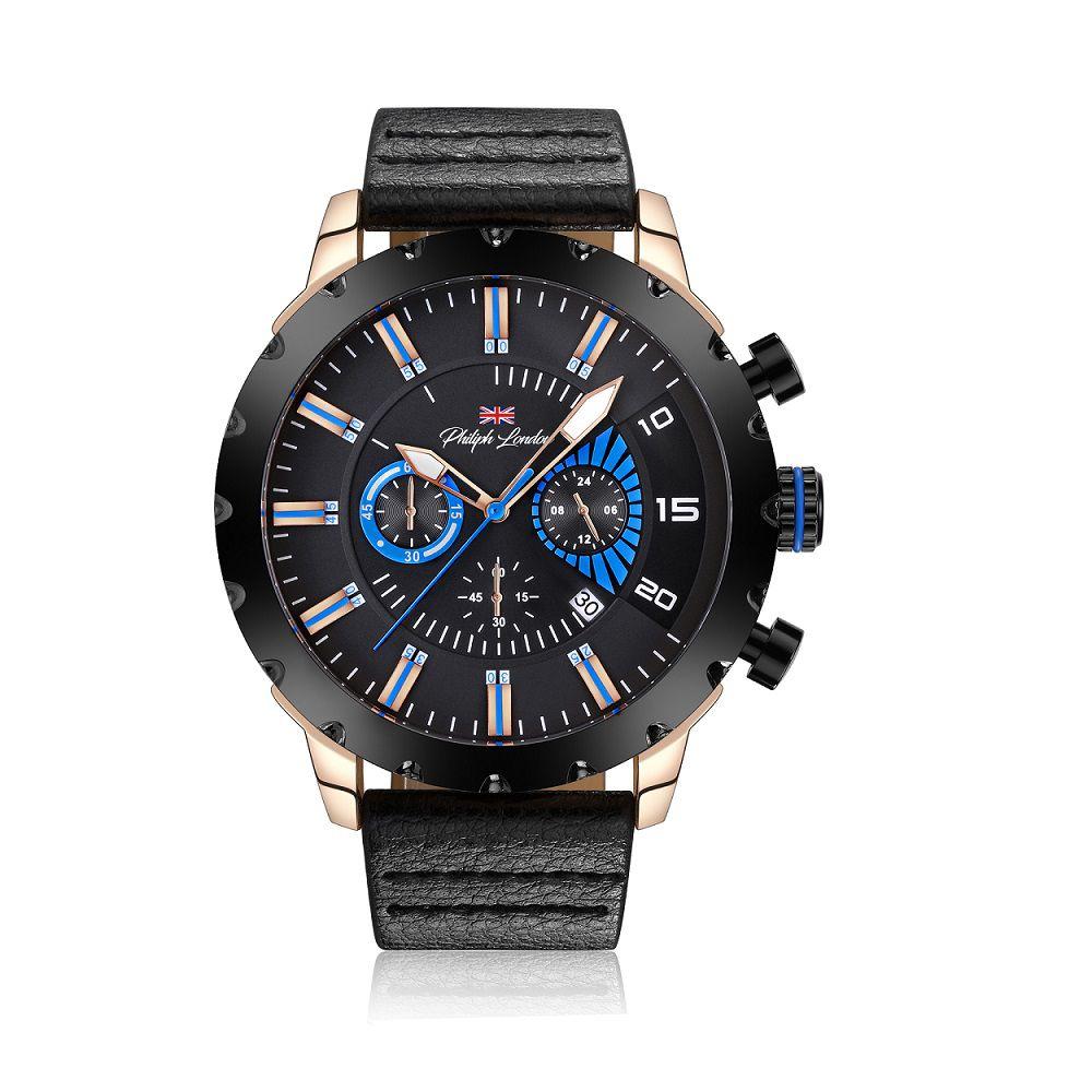 9f17f1b998e Relógio Philiph London Masculino PL80010632M