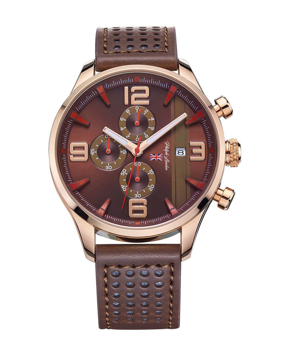 55ae882062c Relógio Philiph London Masculino PL80053612M