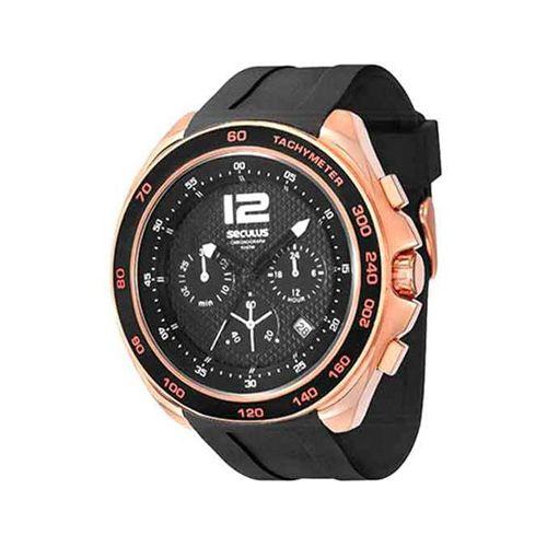 37c7492e106 Relógio Seculus Masculino Chronograph 50014GPSSRU2 Preto - GSmagazine
