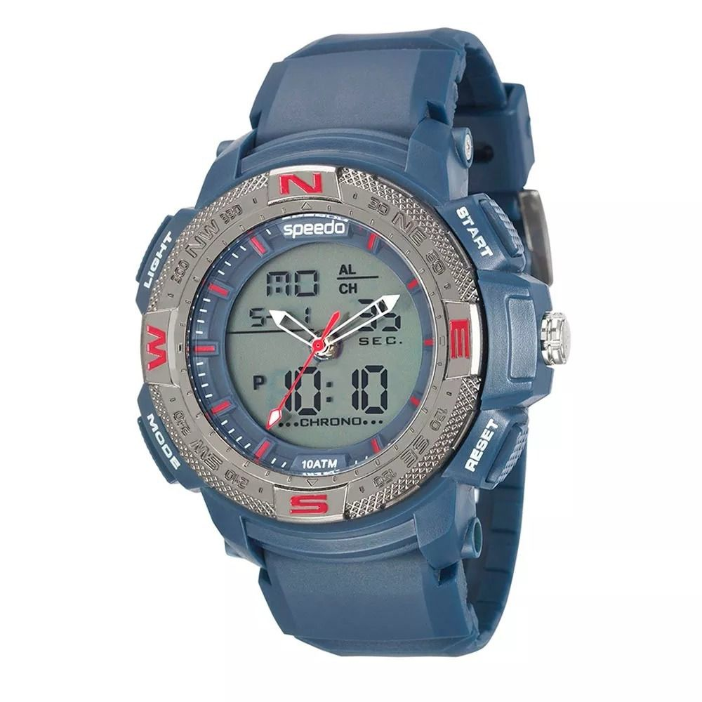 61f962dfea5 Relógio Speedo Masculino Digital 81107G0EVNP1 Azul-Marinho - GSmagazine