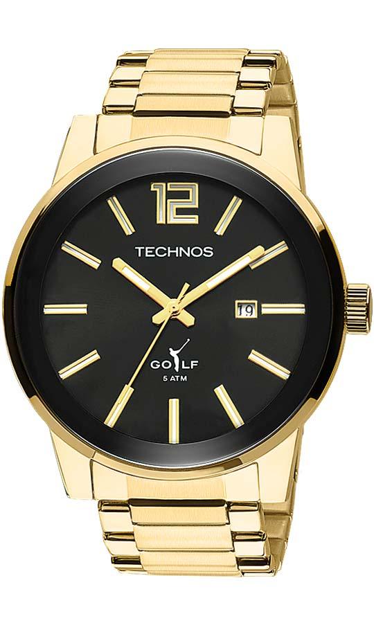 e30b93c03fa Relógio Technos Masculino Golf 2115TT 4P