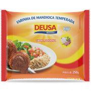 FARINHA DE MANDIOCA TEMPERADA BIJU TRADICIONAL DEUSA 250G
