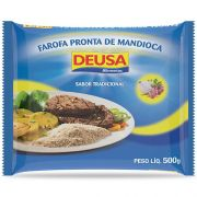 Farofa Pronta de Mandioca Tradicional 500g