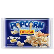 PIPOCA DE MICROONDAS DEUSA SABOR MANTEIGA