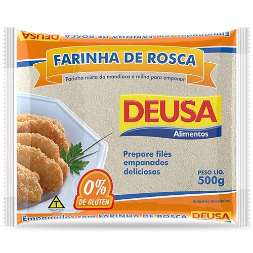 FARINHA DE ROSCA DEUSA 500G