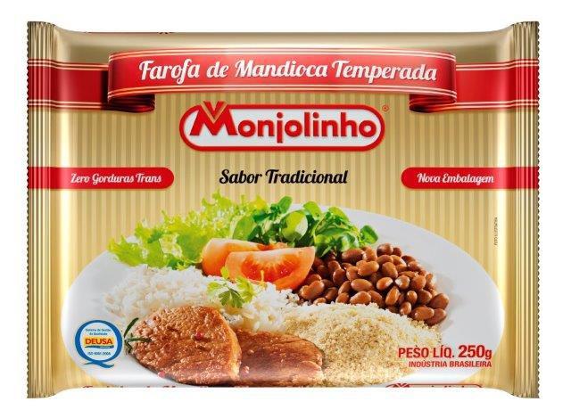 Farofa de Mandioca Temperada Tradicional 250g