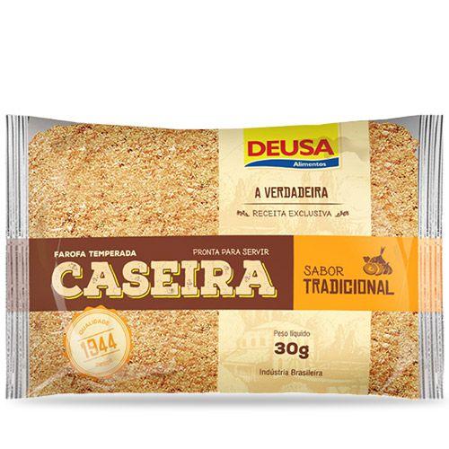 FAROFA TEMPERADA CASEIRA DEUSA 30G