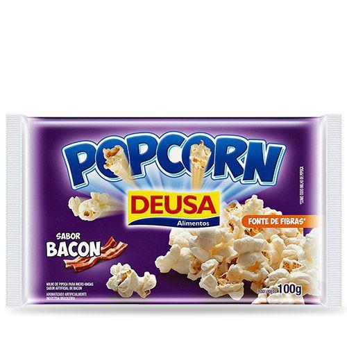 PIPOCA DE MICROONDAS DEUSA SABOR BACON