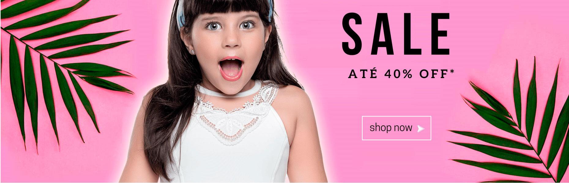 promocao loja infantil