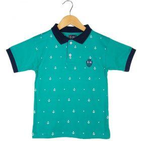 Camisa Pólo G-91 Estampa Ângora Bordado