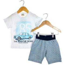 Conjunto Alekids  Camiseta e Bermuda