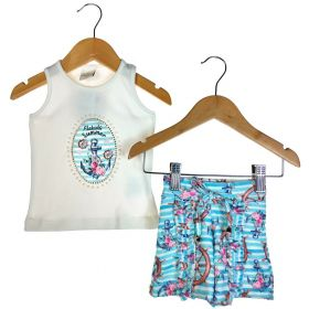 Conjunto Alekids Regata e Short Summer