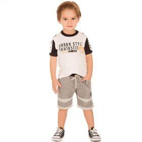 Conjunto Infantil Alekids Camiseta e Bermuda