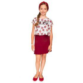 Conjunto Turma da Malha TRM Miss Juvenil