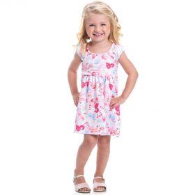 Vestido Infantil Randa Neoprene