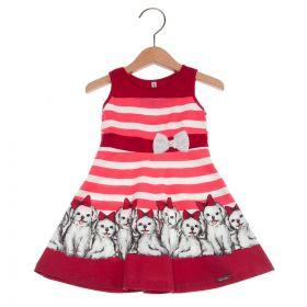 Vestido Turma da Malha Miss TRM Cachorrinhos