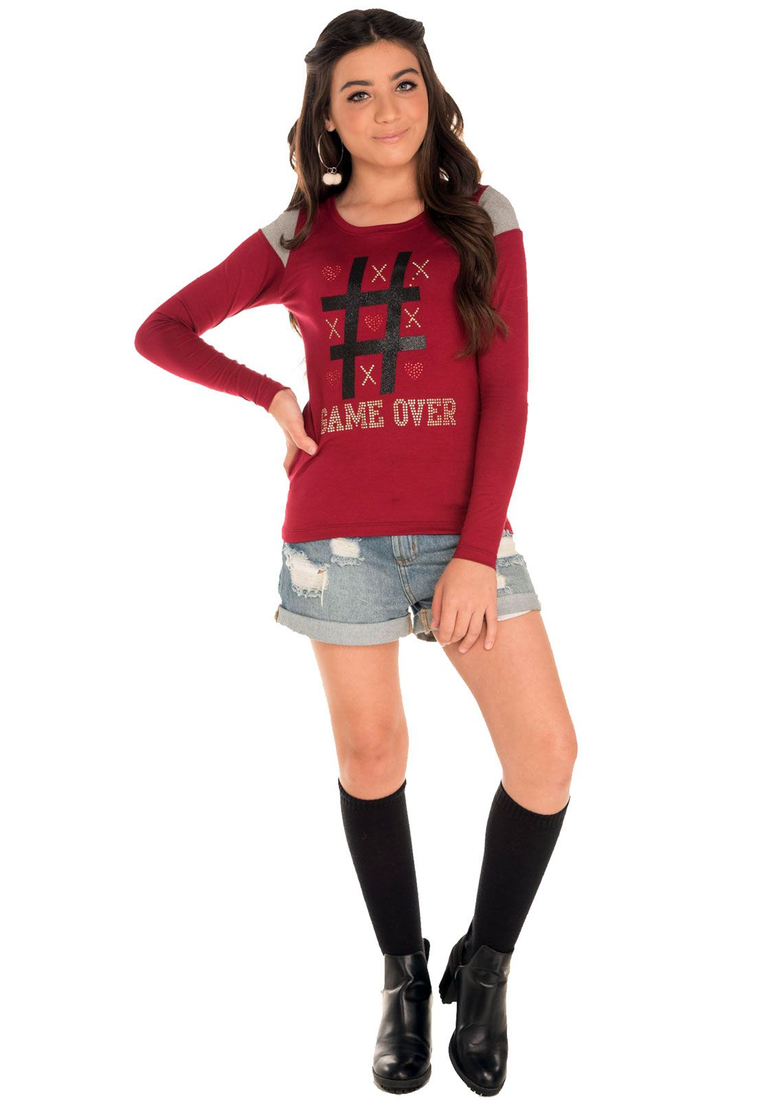 Blusa Alekids Game Over