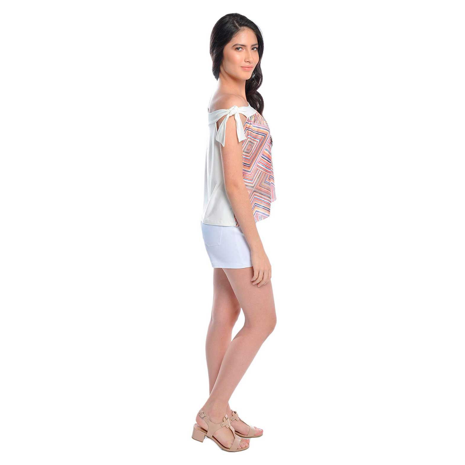 Blusa Fanyland Ombro à Ombro