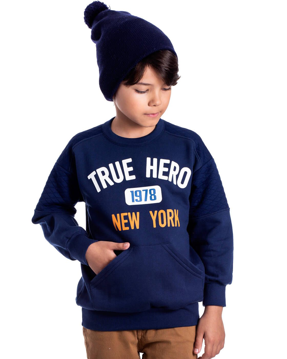 Blusa Infantil Serelepe True Hero