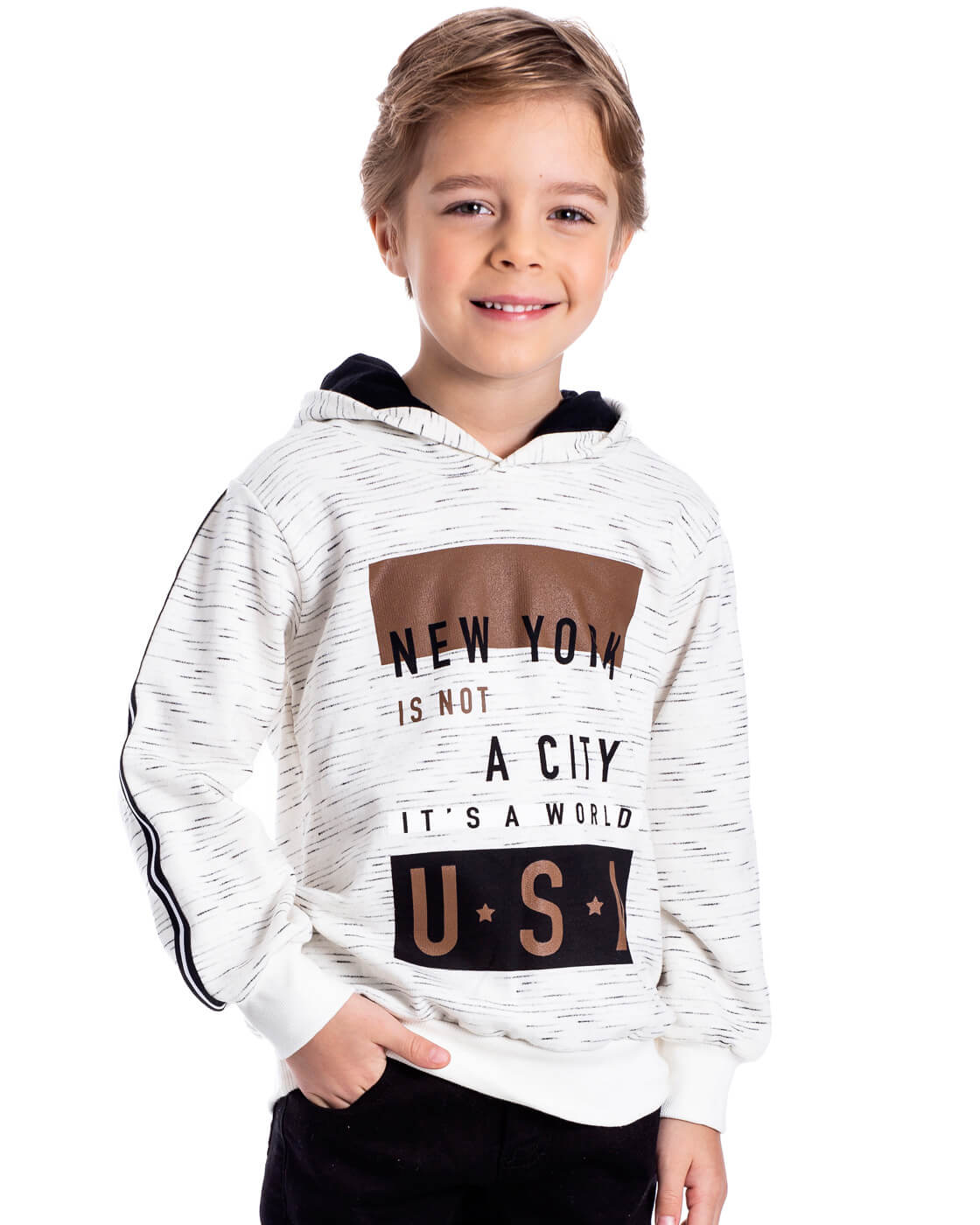 Blusa Infantil Serelepe USA