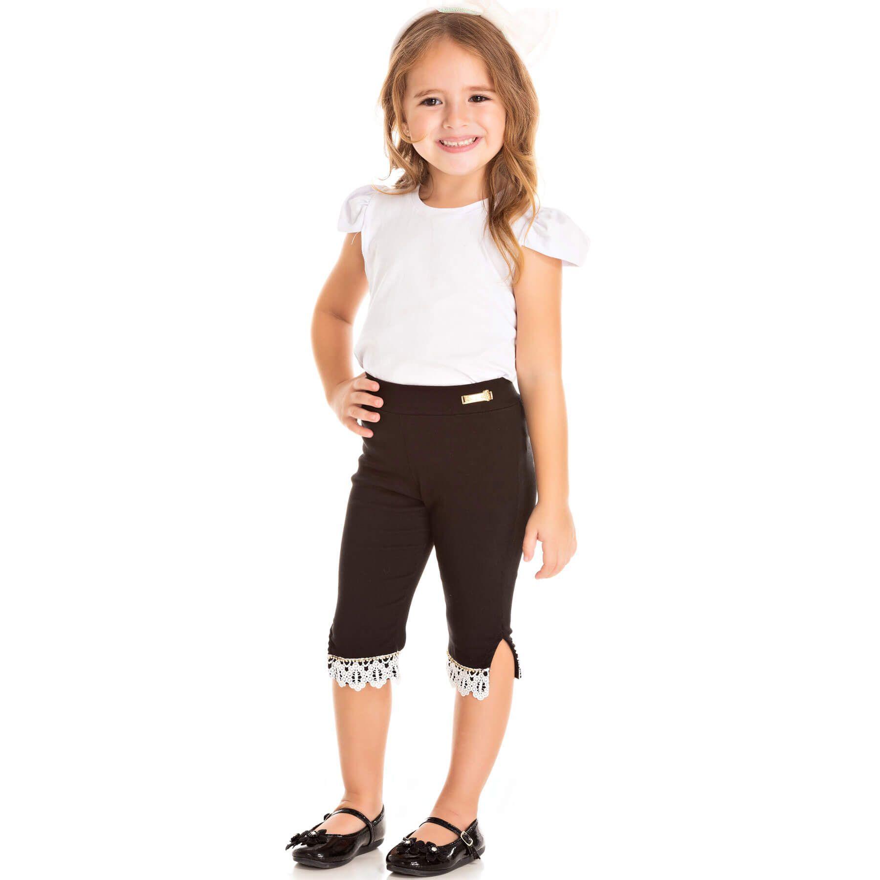 Calça Infantil Pic Nic Legging Corsário